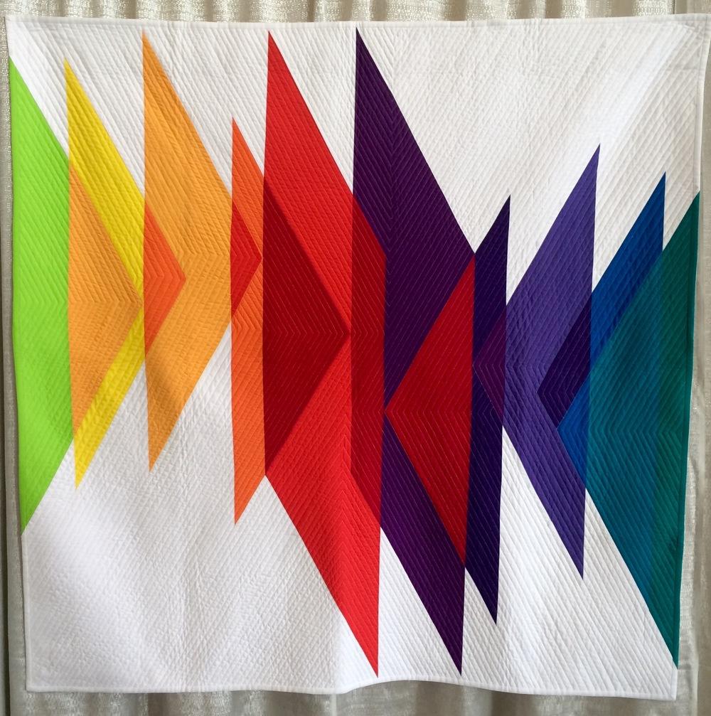 Color Study (Triangles)- Erika Mulvenna