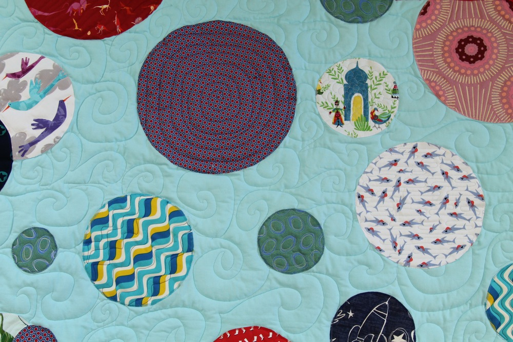 Bubbles II — Julie Responsibly : easiest quilt ever - Adamdwight.com