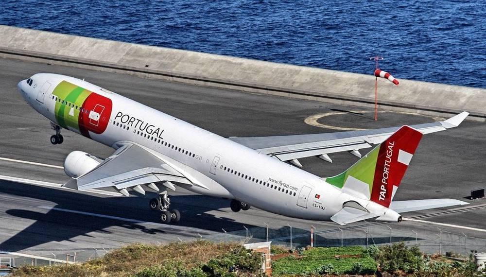 Airbus A330 da TAP Portugal. Lindo seria dizer pouco. (Foto: Rui Sousa)