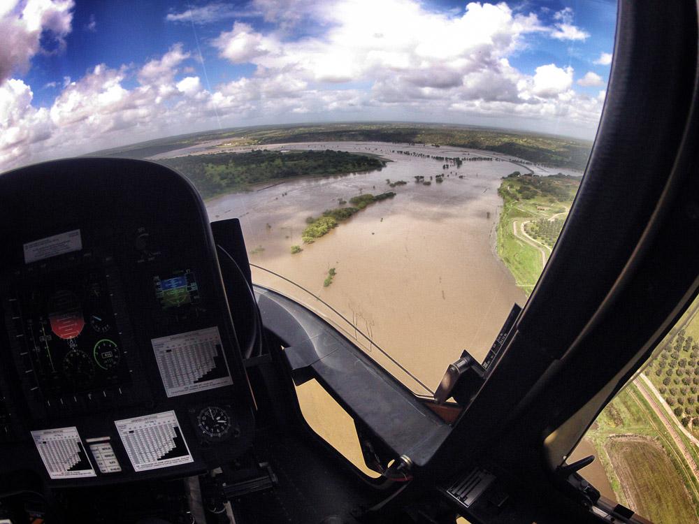 Ribeira? Isto é um rio!