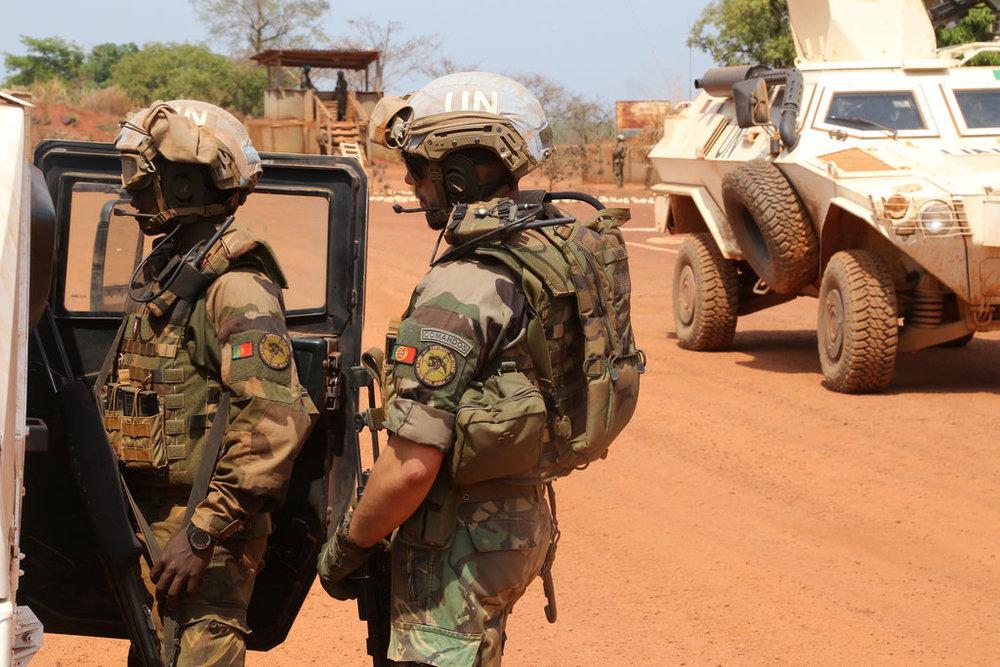 Militares portugueses na República Centro-Africana (autor desconhecido)