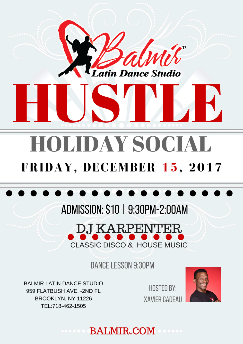 Hustle Holiday Dance Party 2017