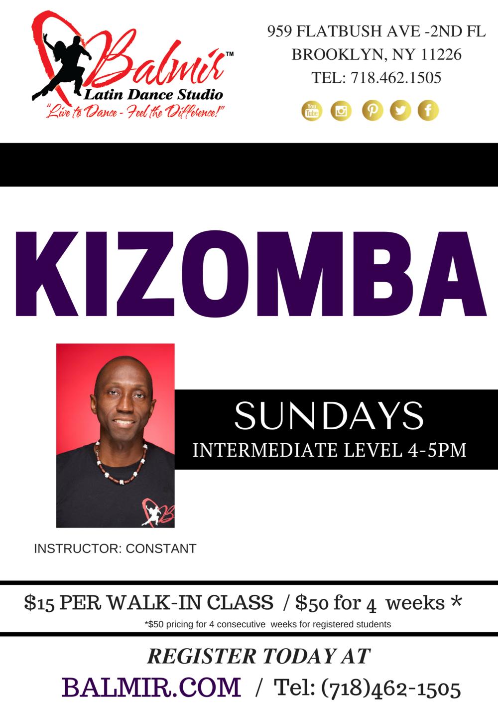 Kizomba Dance Classes in Brooklyn, NYC