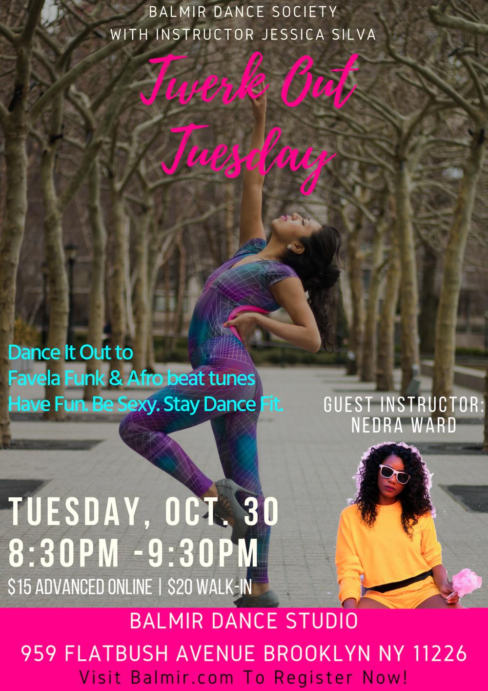 Twerk Out Tuesday Brooklyn Balmir Dance Class.png