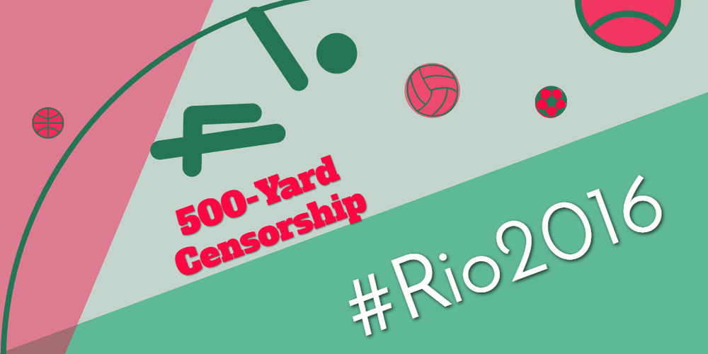 #Rio2016 Is an Official Trademark of the International Olympic Committee