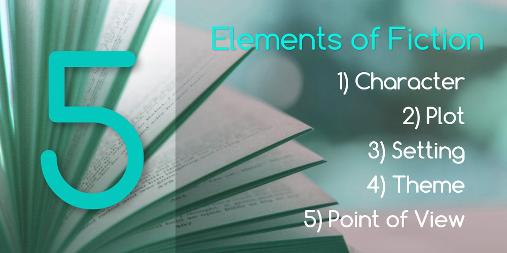 The Five Elements of Fiction