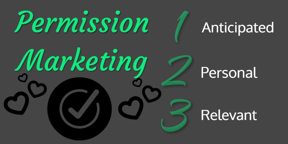 3 Attributes of Permission Marketing