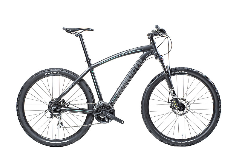"Bianchi Kuma 27.3   The Kuma 27.3 is a trail ready mountain bike with its 27.5"" wheels, 3x8 speed Shimano drivetrain, HLO hydraulic fork lockout and powerful hydraulic disc brakes that deliver exceptional braking power."