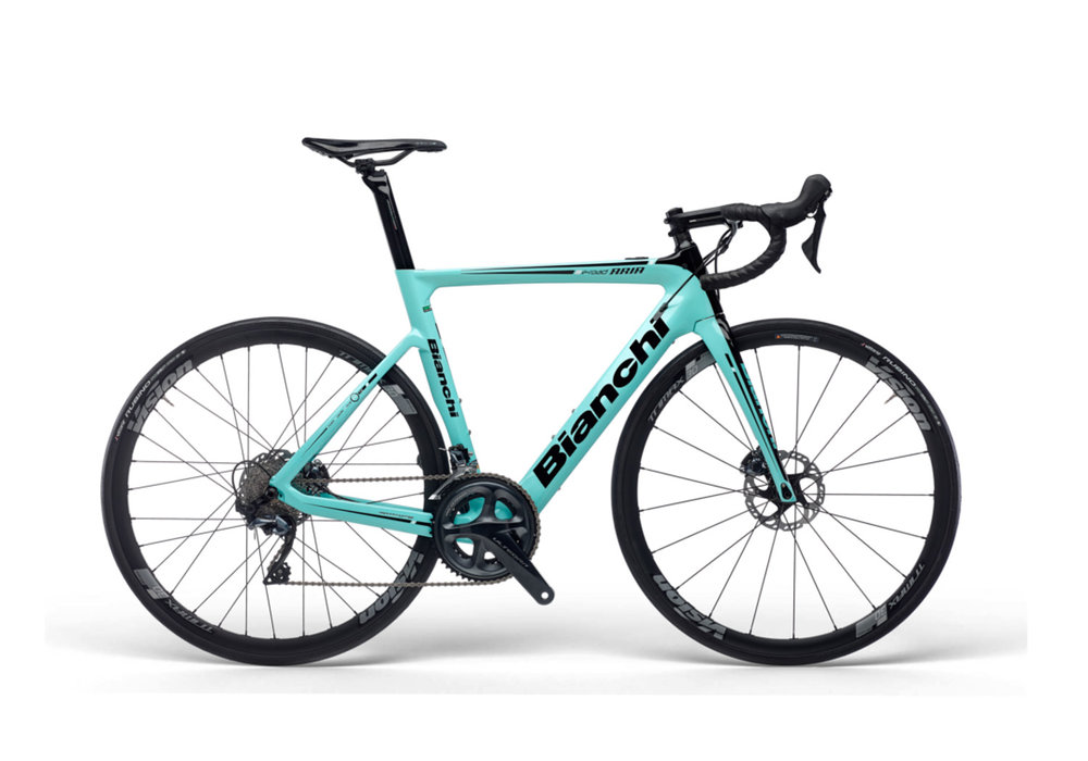ARIA E-ROAD | POWER WHEN YOU NEED IT   The new Aria e-Road aero carbon bike, engineered with Bianchi's Inner Power Drive system, is the perfect solution to the demands of genuine road riders the world over: to have the look and feel of traditional, pure high-performance, race-bred road riding, with powerful electrical assistance in the background - when you need it.