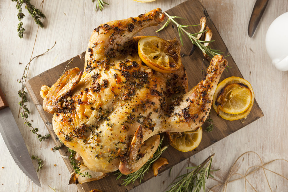 Greek Lemon and Oregano Chicken