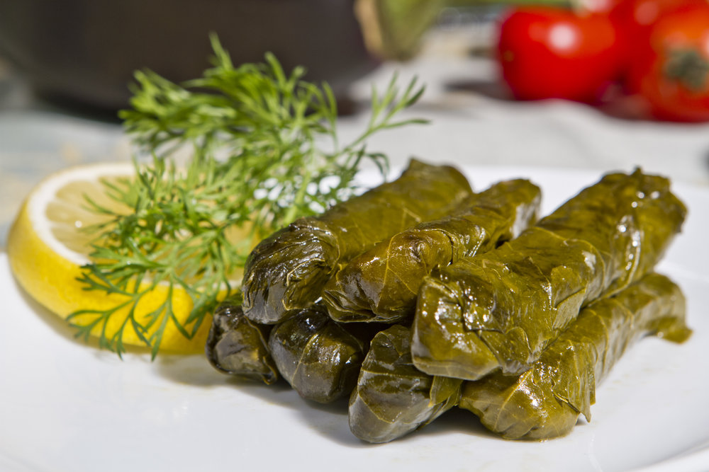 Stuffed Grape Leaves (Greek Dolma)