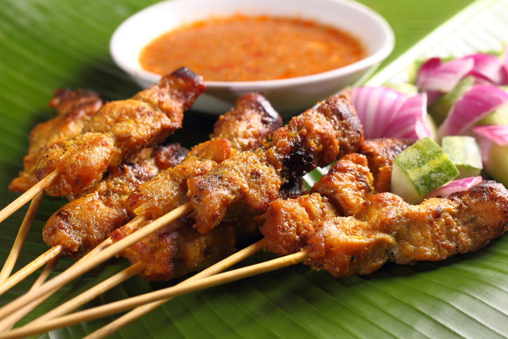 Thai Satay Chicken