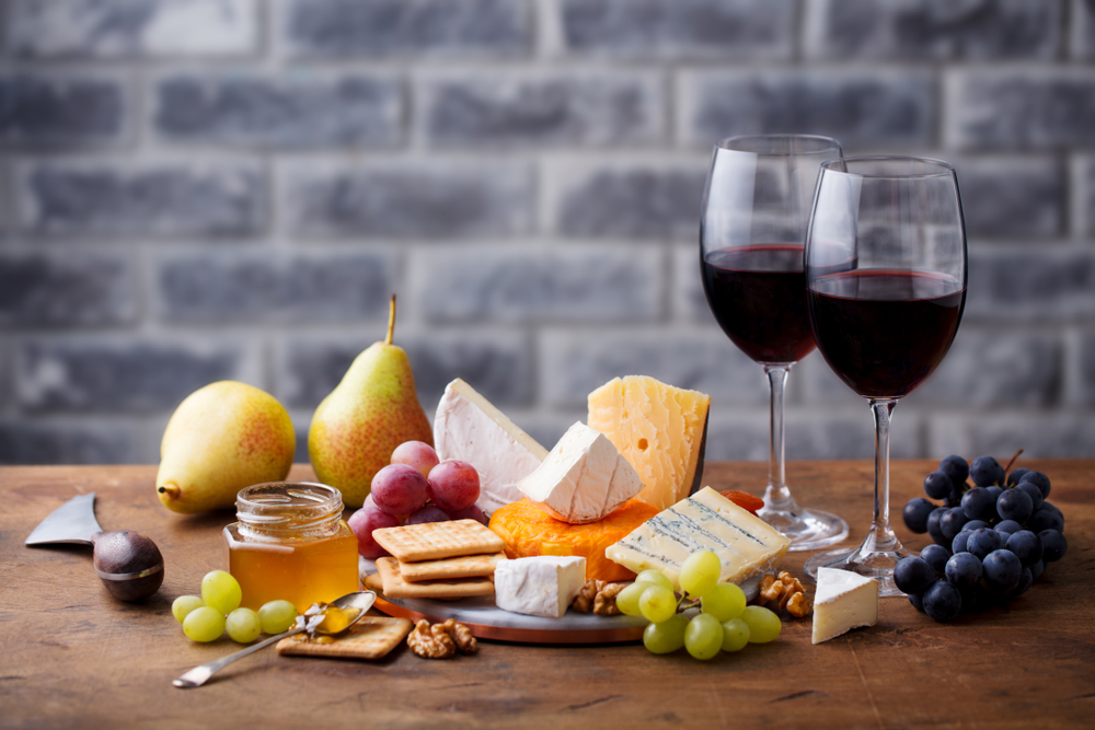 COMING SOON - Wine & Cheese Selection