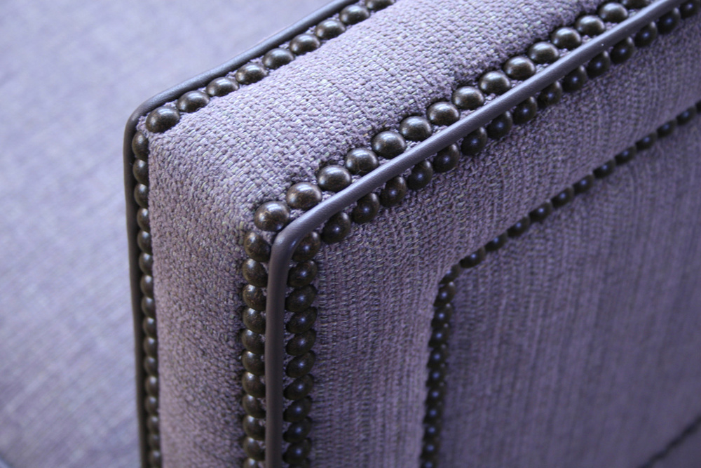 Upholstered sofa - detail