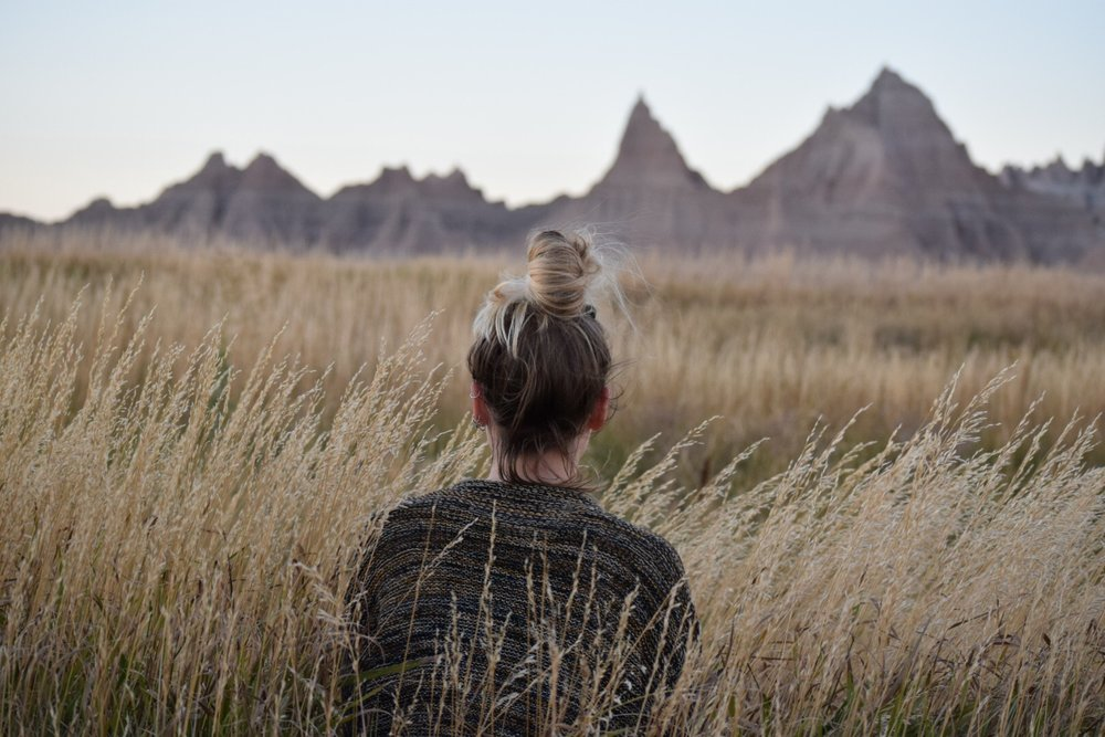 Badlands National Park | Cedar Pass campground -Site 41 (for the view, of course!)