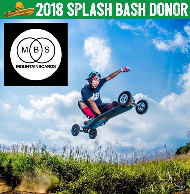 Take your skating skills to the limit on an MBS Mountain Board. ⛰ The Eckert family has so generously donated these extreme wheels to our Bash and we can't get over how cool it is! 😎 Get ready to bid on an all terrain longboard with hand brake from @mbsmountainboard. 🌍 The world is yours on this thing! So pumped! 🤙🏼 Thank you so much Eckerts and MBS Mountain Boards! This is major!