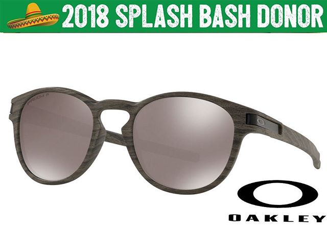 """Block out those rays in style with these Oakley """"Latch"""" Prizm Polarized Sunglasses! 🕶 So pumped to have @Oakley as a part of our Bash this year and can't wait to see who takes these peeper hiders home on May 5th! 💥 Thank you Oakley and @kingman! So stoked!"""