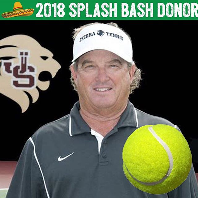 You'll LOVE, LOVE this one! 🎾 Tennis Pro Kirk Orahood is once again game, set, matching us up with an awesome donation! 🏆 You'll be able to bid on One 90 Minute Private Lesson with video film analysis, One Kirk Orahood T3 Jr. Tennis Camp 8 week session in the fall or 2 weeks over summer, one tennis stringing and grip job, one JSerra Mens XL tennis shirt, two 4 ball cans of Dunlop tennis balls and one kid's size 21 tennis racket! 💚 Phew! So amazing!!! Kirk is serving up some radness! Thank you so much @coach_kirk_ ! Love this fun donation!
