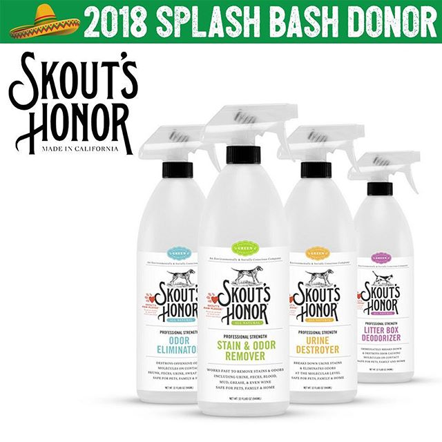We love our pets! 🐶 🐱 Skout's Honor! 🤞🏼🎖That's why we are obsessed with using great products on them! 💦Skout's Honor is top-of-the-line pet care for your little fur ball! You will be able to treat man's best friend to @skoutshonor's pet shampoo, conditioner, 2-1 shampoo conditioner, deodorizer, detangler, stain & odor remover, urine & odor destroyer & litter box deodorizer. 💫 Whether you're a dog person or a cat person, Skout's Honor has got you covered! ✨ Thank you so much for this purr-fect donation! We're barking mad for it!