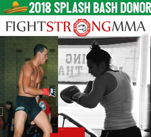 Youll have three opportunities to foght strong for these rad donations from Fight Strong MMA! 🥊 Concordia parents Adam and Julie Watts of @fightstrongsc have created programs that teach effective self-defense and ground fighting techniques while whipping you into amazing shape! 💪🏻 Between 1 month of Adult classes, 1 month of Youth Brazilian Jui Jitsu program, and the 1 month of Youth Boxing, you'll be fighting shape when you bid at the Splash Bash! 🏋🏼♂️ Thank you to @julswatts, @adam_watts_sc and Fight Strong MMA! We love it!