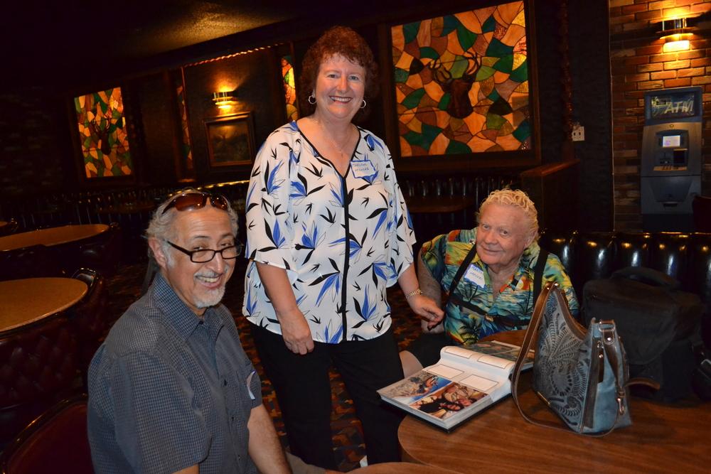 Ed Reyes; Marlene and Malcolm Meyers