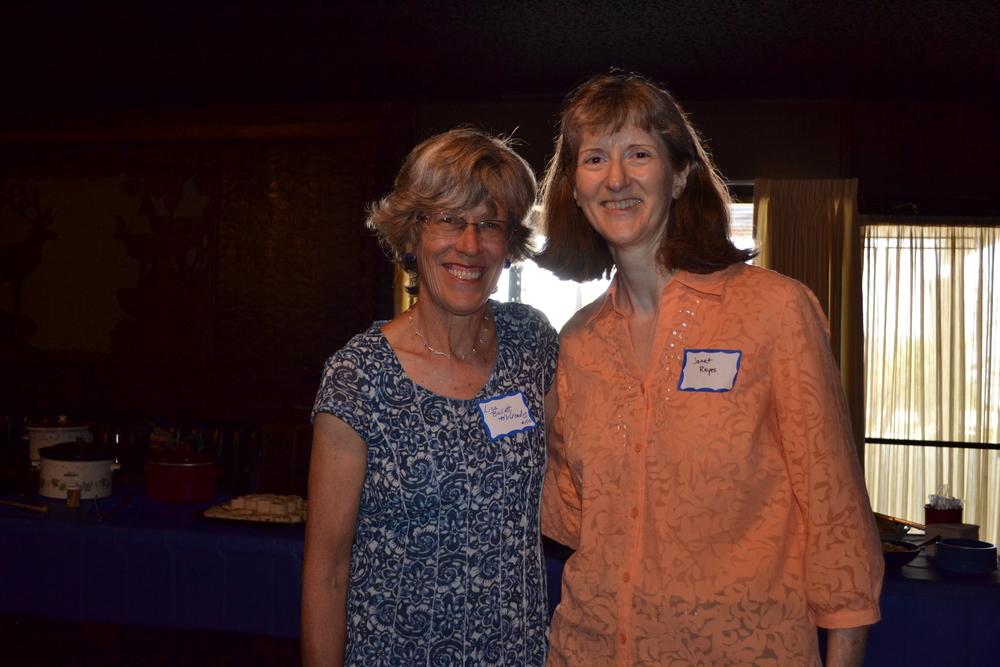 Lisa McCready and Janet Reyes