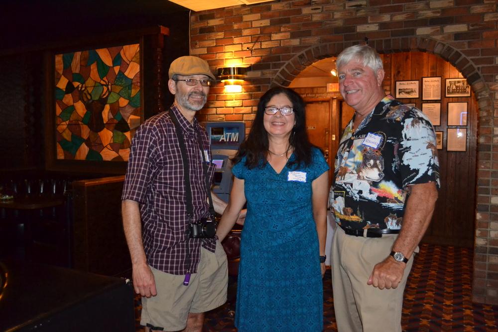 Craig and Theresa Congdon with Paul Kielhold