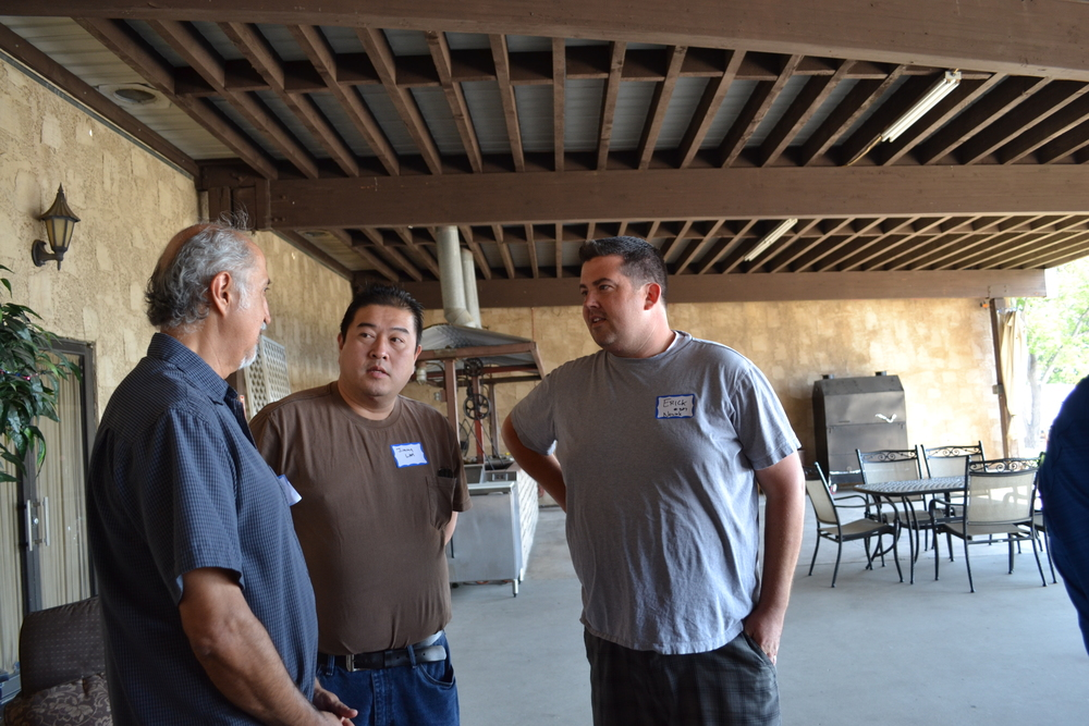 Ed Reyes, Jimmy Lam, Erick Nowak