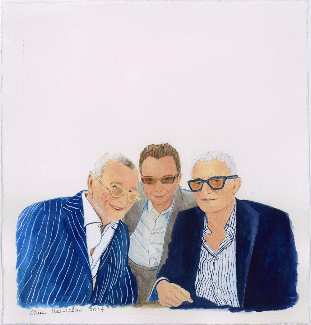 Joseph Ettugidi, Michael Gordon & Vidal Sassoon 2014