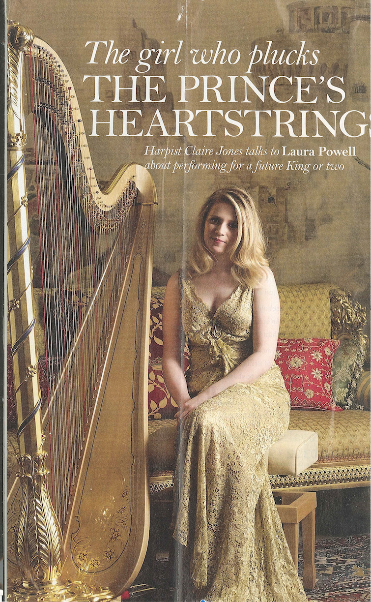 Royal harpist    Prince of Wales's official harpist    The Lady