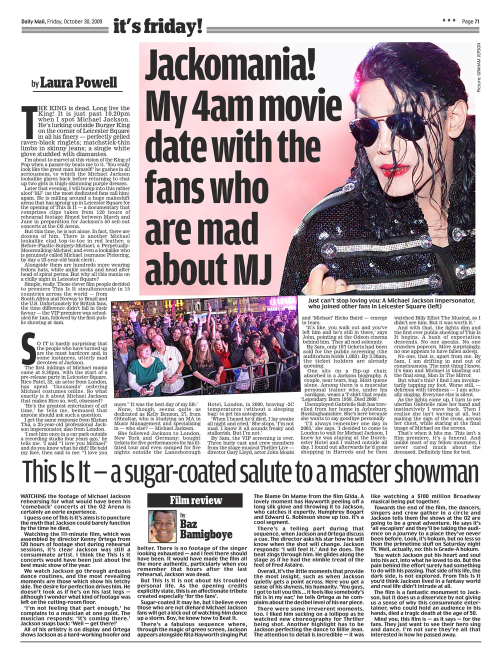 My night with Michael Jackson's superfans   Daily Mail