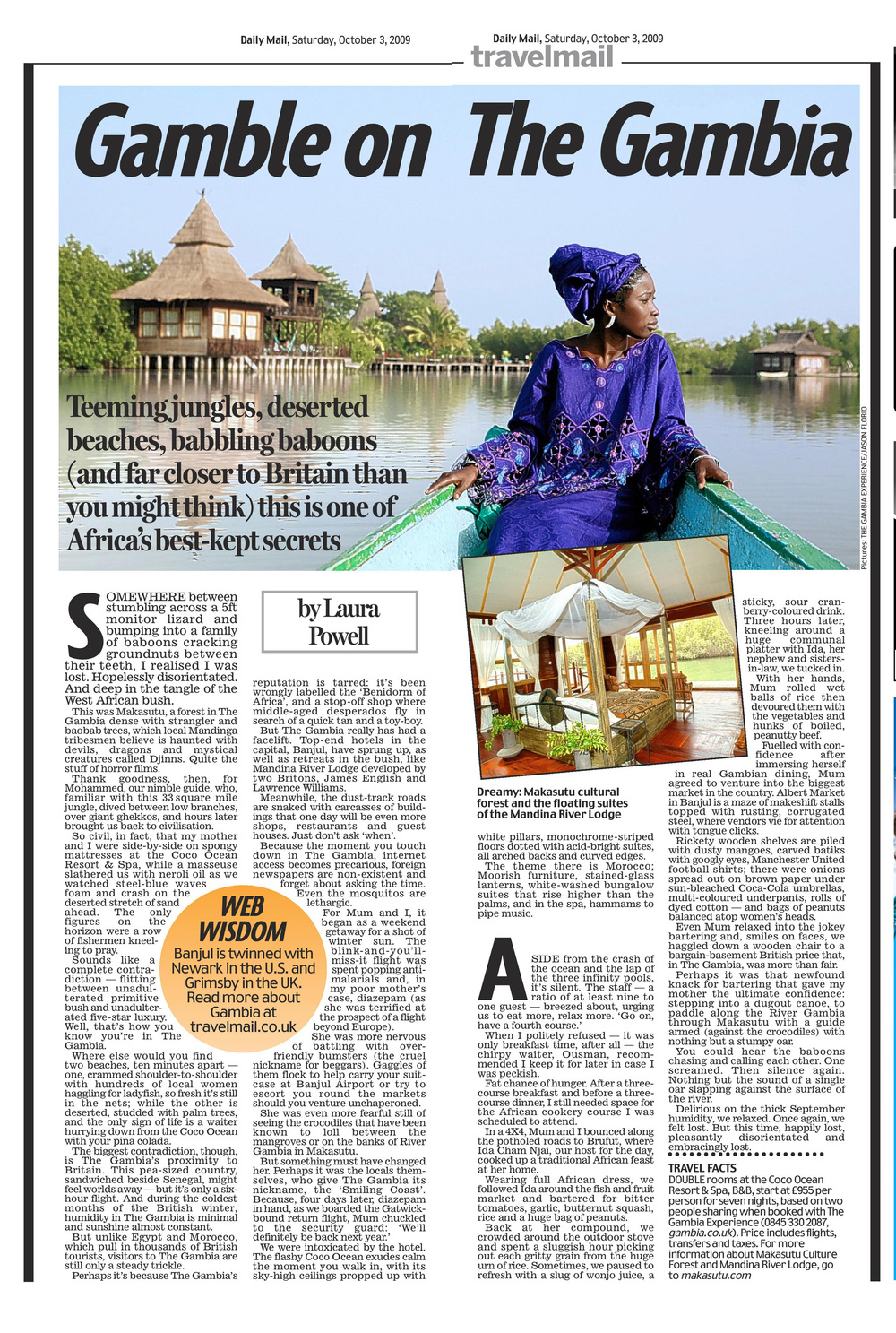 The Gambia   Daily Mail