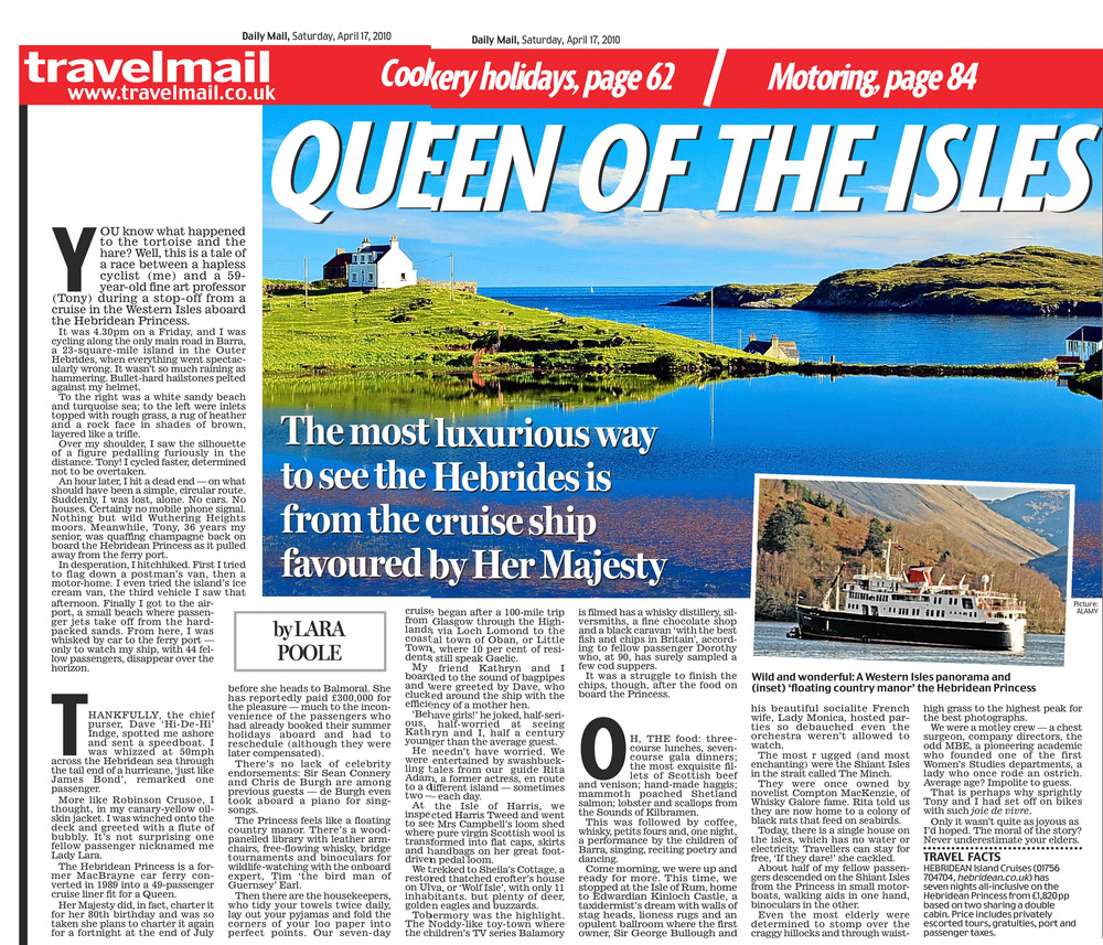 Hebrides   Daily Mail