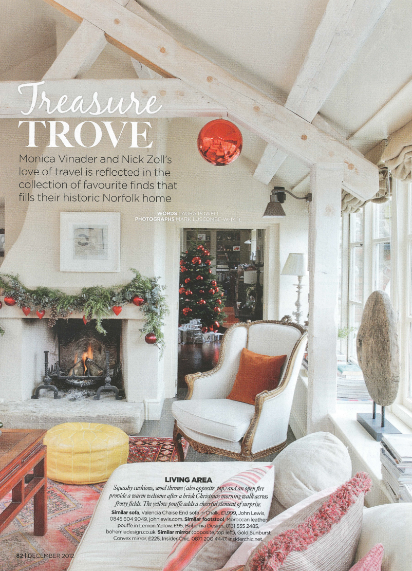 Treasure trove   Homes & Gardens