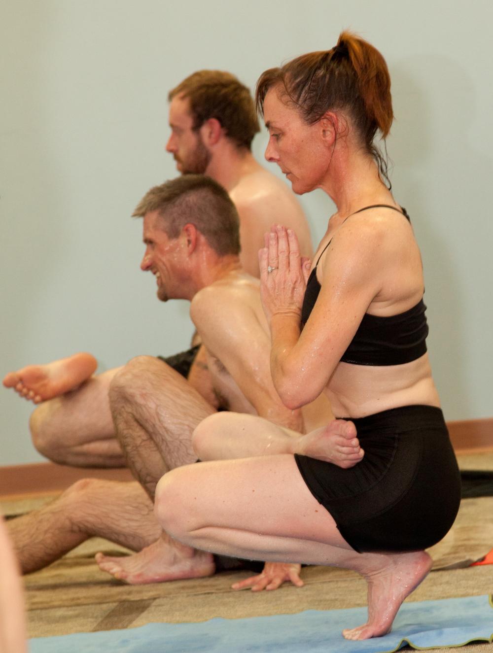 hot yoga post