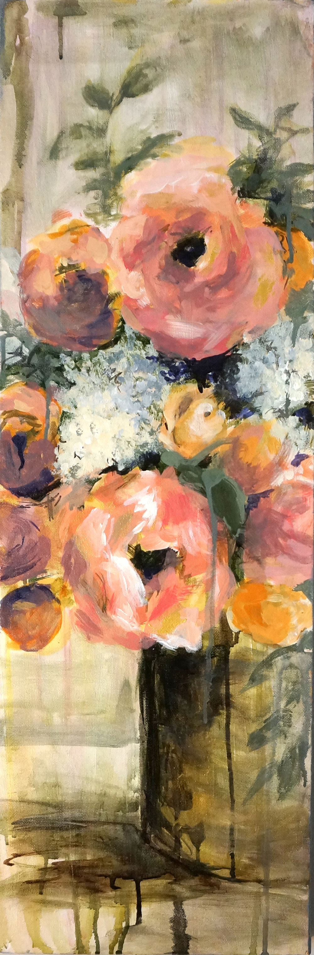 F - Peachy_ Flowers_ Kaitlin Merchant Davison Art - 1500.jpg