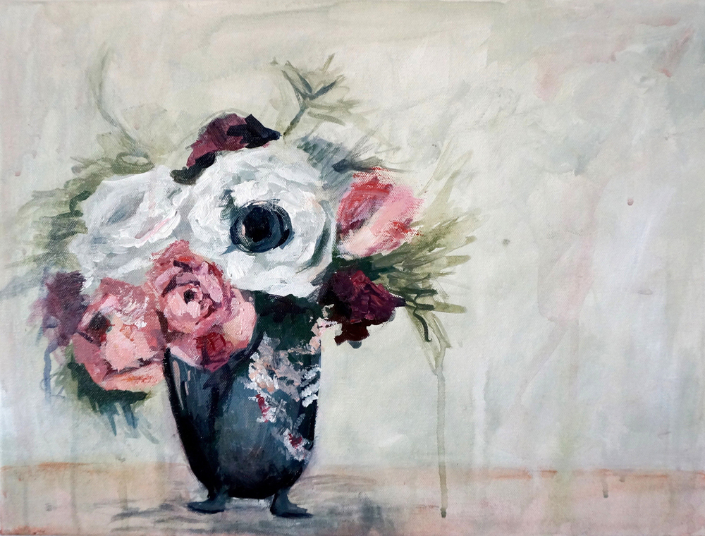 F - Vintage Anemone_Flowers_Still Life_Kaitlin Merchant Davison Art - 1500.jpg