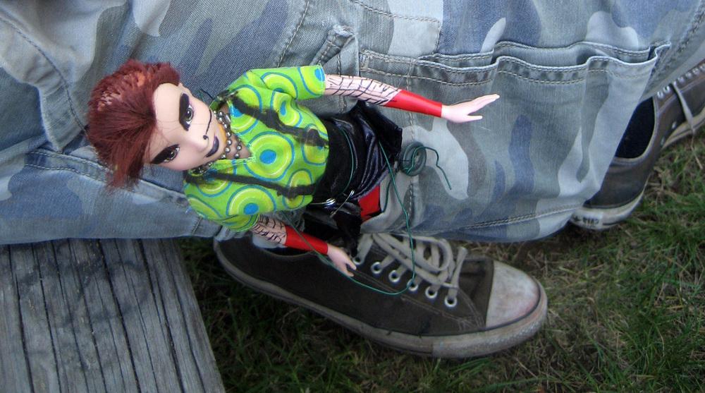 One of the original Punk Rock Dolls