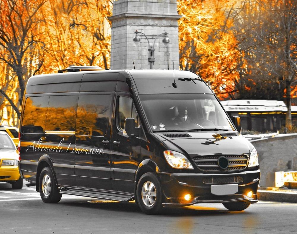 Charlottesville 14 Passenger Coach