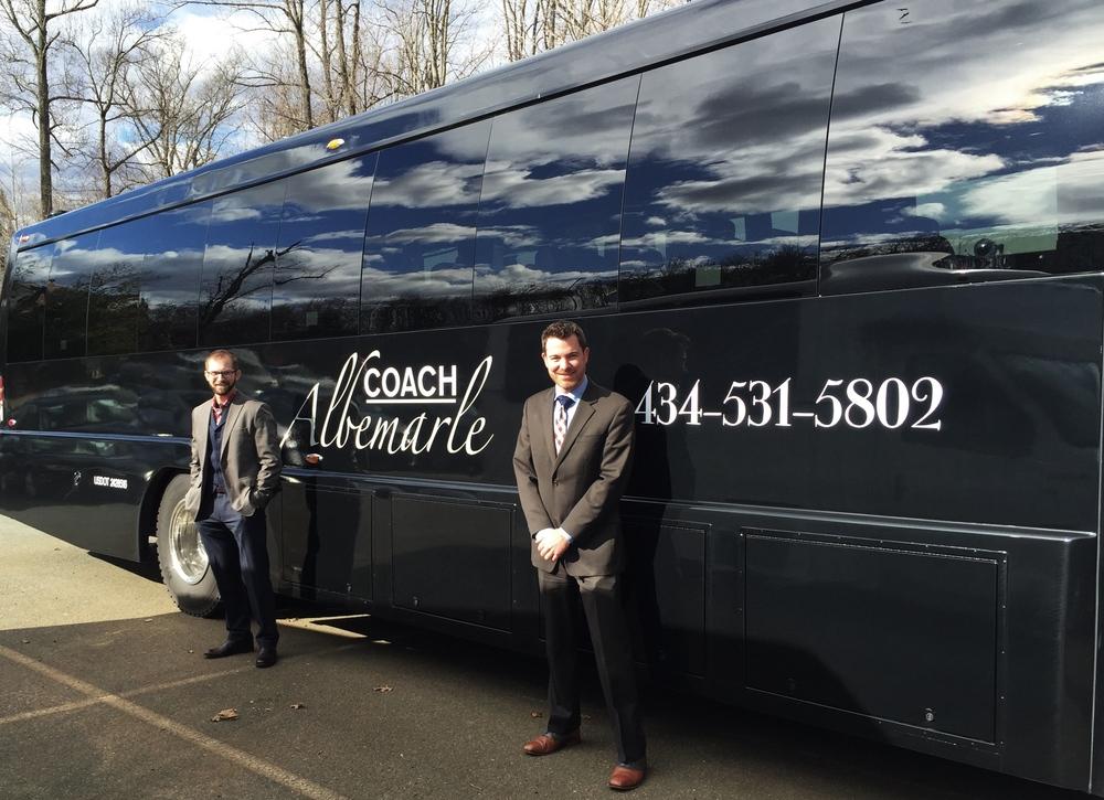 Rent Charlottesville Bus