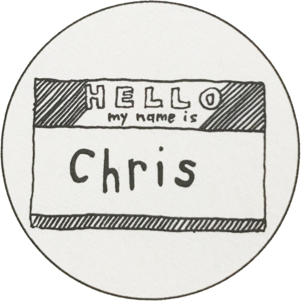 Chris not Christina