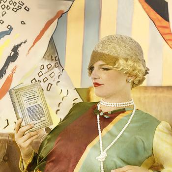 Bohemian Flapper - Detail