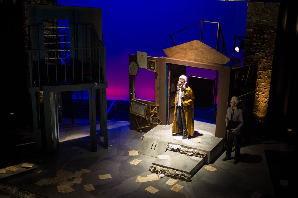 THE SUITORS - LIGHTING DESIGNERUNIVERSITY OF YORK (SPRING 2016)DIRECTED BY VENETIA COOK