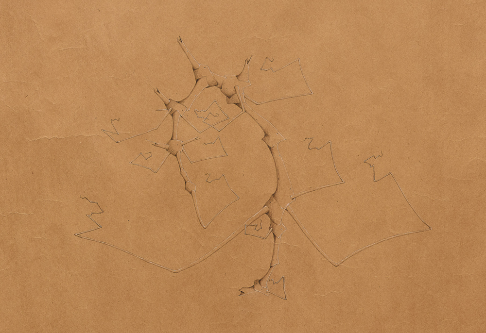 Willie Young, Untitled (detail), 1981. Graphite on Paper, 39 x 41.5 in. Price on Request Reference 1983