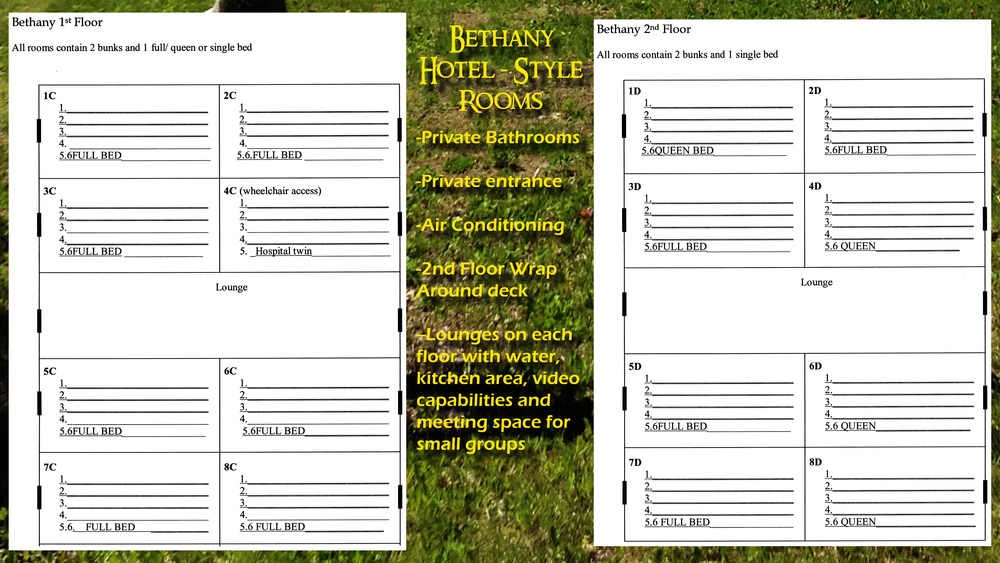 Bethany has been one of our most popular lodging options!