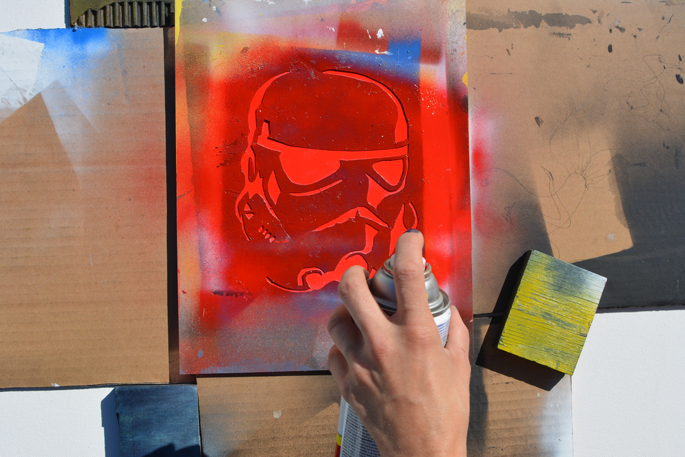 how to make spray paint stencils 10 steps with pictures