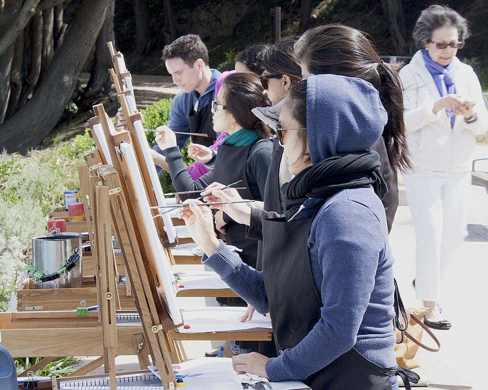 Plein Air Painting Class San Francisco