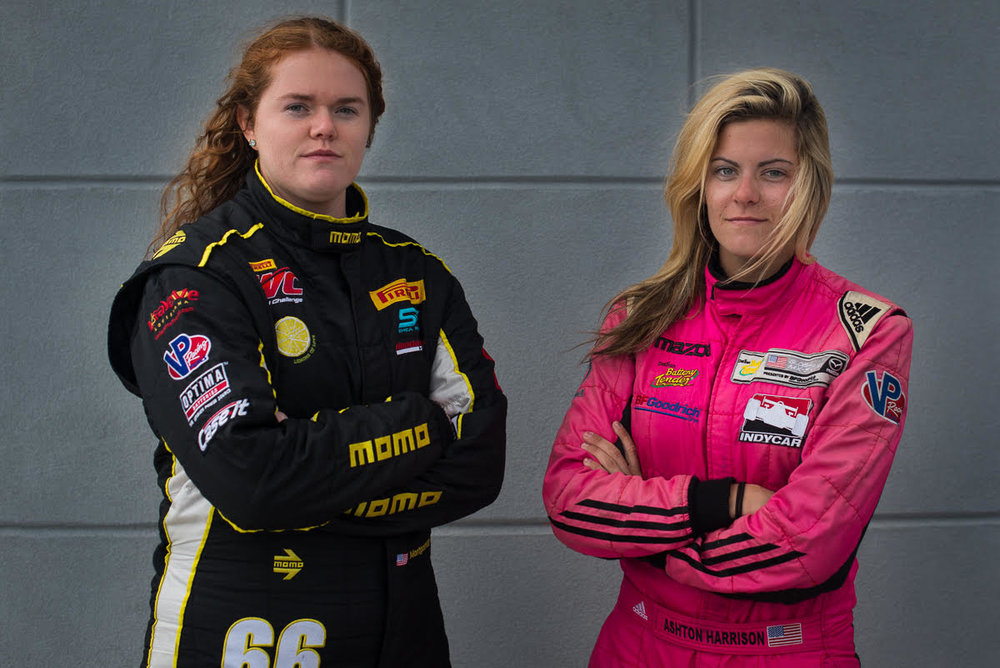 Ashton Harrison and Sarah Montgomery Pursuing TCR OpportunitiesThe co-drivers are seeking sponsors for the IMSA Continental Tire Series - Check out the blog to read more!