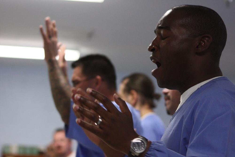 prisoners worship service.JPG