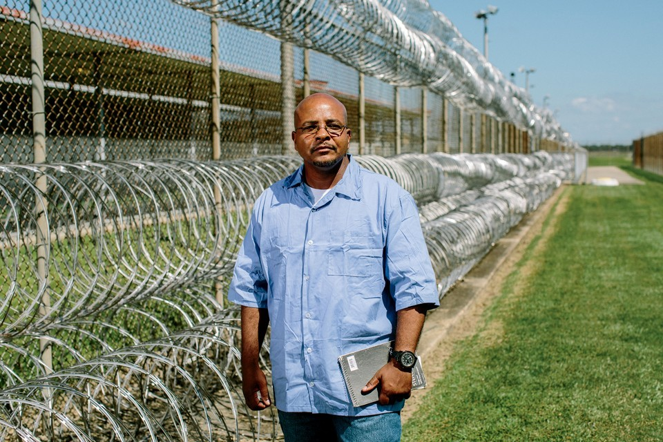 A seminary student at Angola State Penitentiary in Louisiana.  - Photo credit: The Atlantic